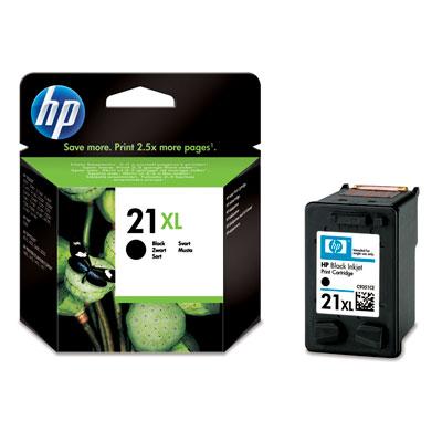 Náplně do HP Deskjet D2460, cartridge pro HP černá