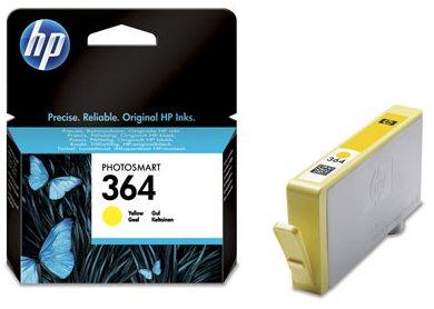 Náplně do HP Photosmart Wireless B110a, cartridge pro HP žlutá