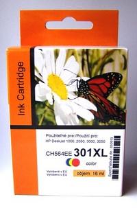 Náplně do HP Deskjet D2000, náhradní cartridge pro HP barevná