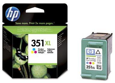 Náplně do HP Photosmart C4280, cartridge pro HP barevná