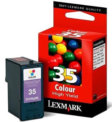 Náplně do Lexmark Z1420, cartridge pro Lexmark barevná
