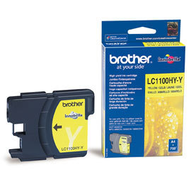 Náplně do Brother MFC-5895CW, cartridge pro Brother žlutá