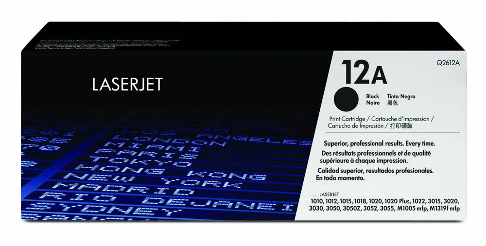 Náplně do HP LaserJet 1022n, toner pro HP černý