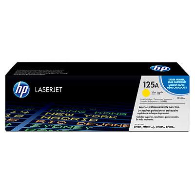 Náplně do HP Color LaserJet CM1312mfp, toner pro HP žlutý