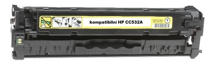 Náplně do HP Color LaserJet CP2025dn, náhradní toner pro HP žlutý