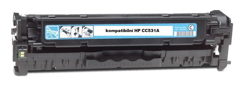 Náplně do HP Color LaserJet CP2025dn, náhradní toner pro HP azurový