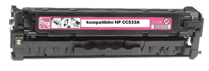 Náplně do HP Color LaserJet CP2025n, náhradní toner pro HP purpurový