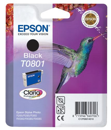 Náplně do Epson Stylus Photo PX700W, cartridge pro Epson černá