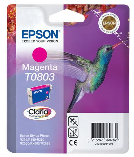 Náplně do Epson Stylus Photo RX585, cartridge pro Epson purpurová