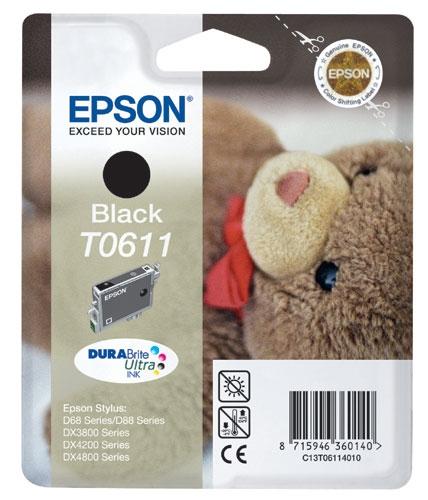 Náplně do Epson Stylus DX3800, cartridge pro Epson černá