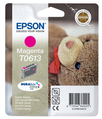 Náplně do Epson Stylus DX3800, cartridge pro Epson purpurová