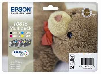 Náplně do Epson Stylus DX3850, sada cartridge pro Epson černá, azurová, purpurová, žlutá