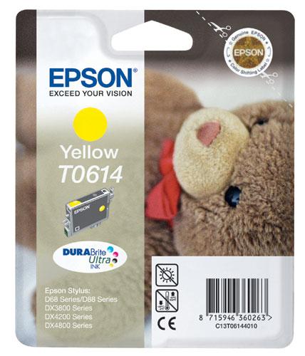 Náplně do Epson Stylus DX4800, cartridge pro Epson žlutá