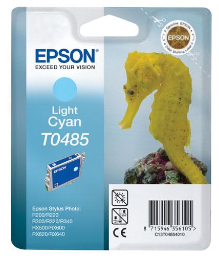 Náplně do Epson Stylus Photo RX500, cartridge pro Epson světle azurová