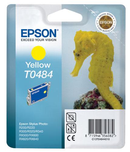 Náplně do Epson Stylus Photo RX640, cartridge pro Epson žlutá