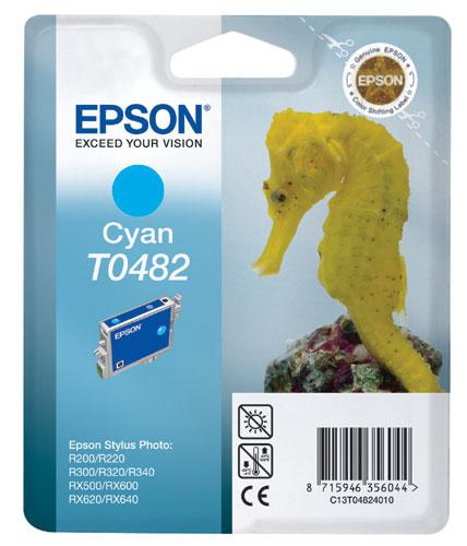 Náplně do Epson Stylus Photo RX640, cartridge pro Epson azurová