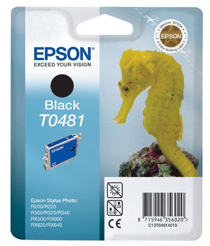 Náplně do Epson Stylus Photo RX640, cartridge pro Epson černá