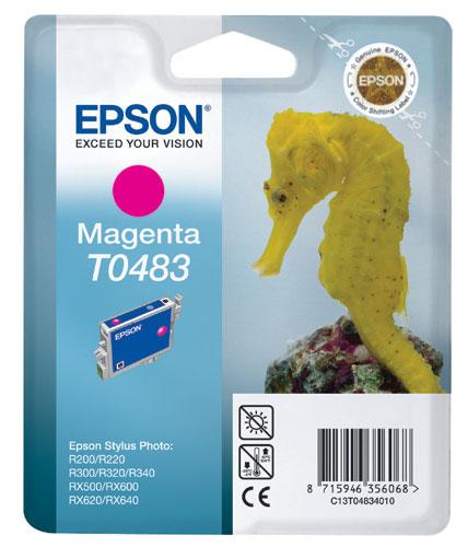 Náplně do Epson Stylus Photo RX640, cartridge pro Epson purpurová
