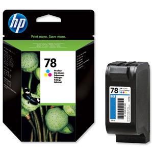 Náplně do HP Deskjet 990cxi, cartridge pro HP barevná