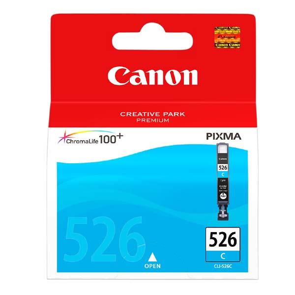 Náplně do Canon PIXMA MG5250, cartridge pro Canon azurová