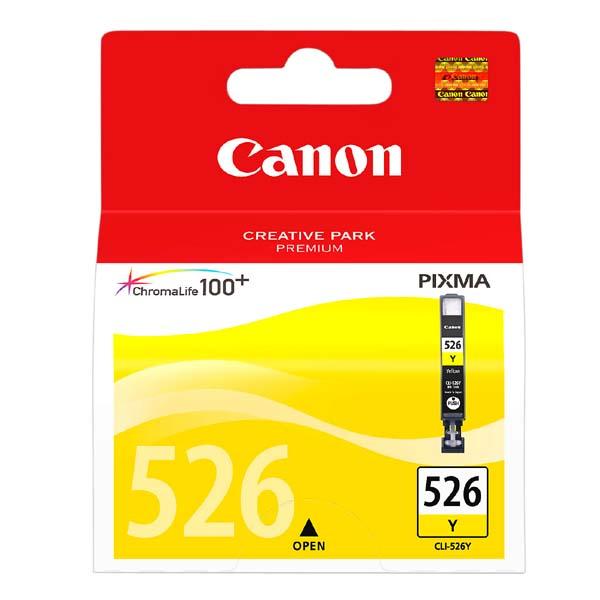 Náplně do Canon PIXMA MG5250, cartridge pro Canon žlutá