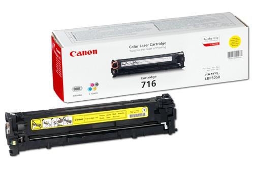 Náplně do Canon i-SENSYS MF8080, toner pro Canon žlutý