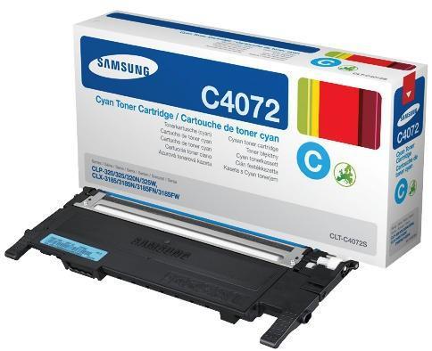 Náplně do Samsung CLX-3185, toner pro Samsung azurový
