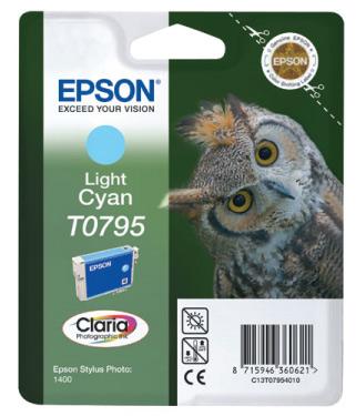 Náplně do Epson Stylus Photo PX660W, cartridge pro Epson světle azurová