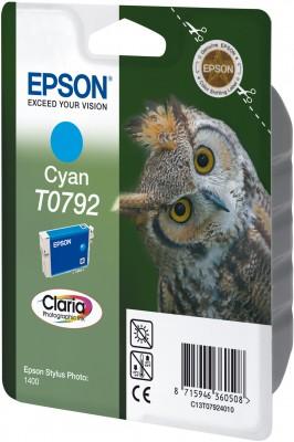Náplně do Epson Stylus Photo PX710W, cartridge pro Epson azurová