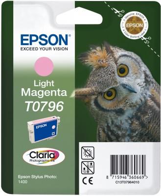 Náplně do Epson Stylus Photo PX730WD, cartridge pro Epson světle purpurová