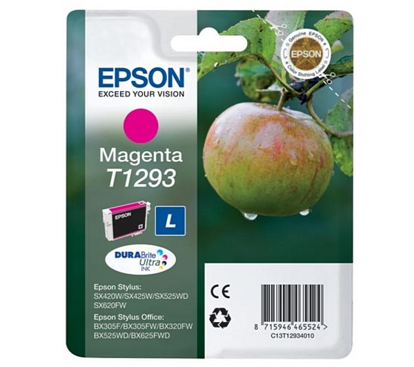 Náplně do Epson Stylus Office BX525WD, cartridge pro Epson purpurová