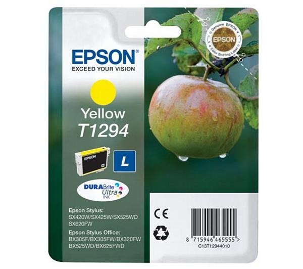Náplně do Epson Stylus SX435W, cartridge pro Epson žlutá