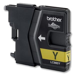 Náplně do Brother MFC-J415, cartridge pro Brother žlutá