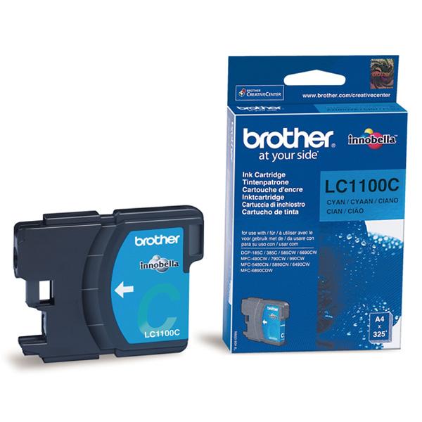 Náplně do Brother DCP-383C, cartridge pro Brother azurová