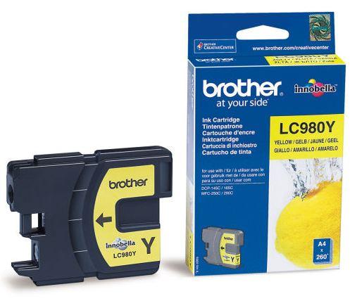 Náplně do Brother DCP-375CW, cartridge pro Brother žlutá