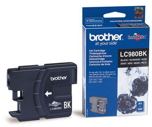 Náplně do Brother DCP-377CW, cartridge pro Brother černá