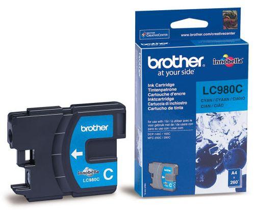Náplně do Brother MFC-295CN, cartridge pro Brother azurová