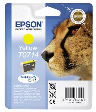Náplně do Epson Stylus DX4450, cartridge pro Epson žlutá