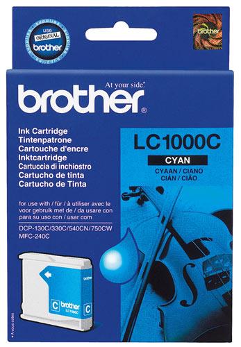 Náplně do Brother DCP-357C, cartridge pro Brother azurová