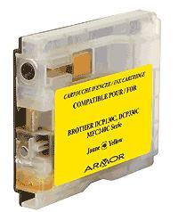Náplně do Brother DCP-680CN, náhradní cartridge pro Brother žlutá