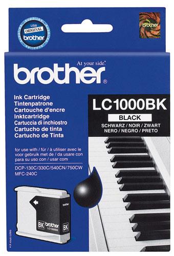 Náplně do Brother DCP-770CW, cartridge pro Brother černá
