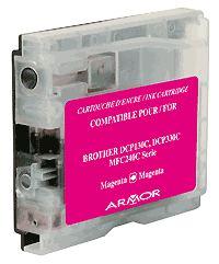 Náplně do Brother MFC-3360C, náhradní cartridge pro Brother purpurová