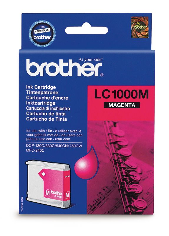 Náplně do Brother MFC-680CN, cartridge pro Brother purpurová