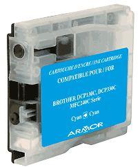 Náplně do Brother MFC-885CW, náhradní cartridge pro Brother azurová