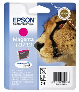 Náplně do Epson Stylus DX7450, cartridge pro Epson purpurová