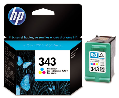 Náplně do HP Photosmart 385, cartridge pro HP barevná