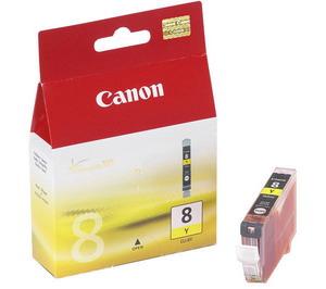 Canon CLI-8Y - originální žlutá (CLI8Y)