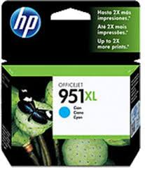 Náplně do HP Officejet Pro 8600 e-All-in-One, cartridge pro HP azurová XL