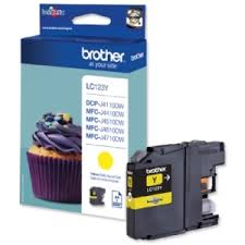 Náplně do Brother DCP-J552DW, cartridge pro Brother žlutá
