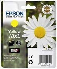 Náplně do Epson Expression Home XP-302, originální cartridge pro Epson žlutá